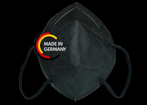 FFP2 Atemschutzmaske XBRGblack NR CE 2841 Made in Germany