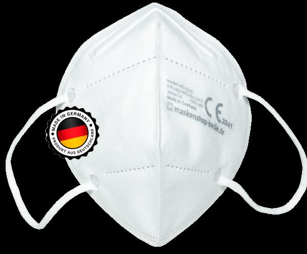 FFP2 Atemschutzmaske XBRGwhite NR CE 2841 Made in Germany