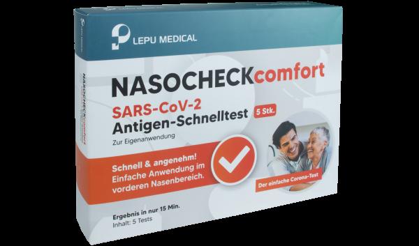 Lepu Medical COVID-19 Antigen Schnelltest mit Laienzulassung | 5 Tests pro Packung